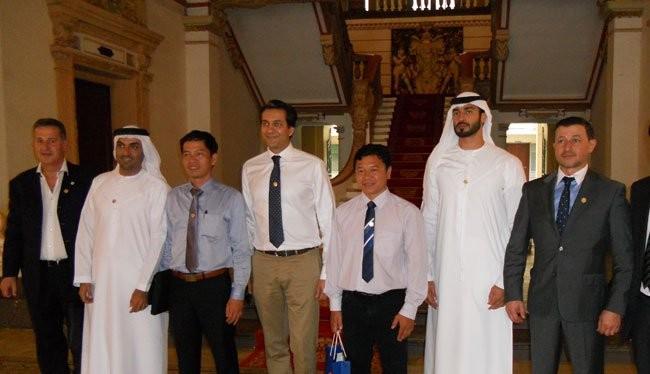 Các nhà đầu tư UAE làm việc tại UBND TPHCM chiều nay 25-5