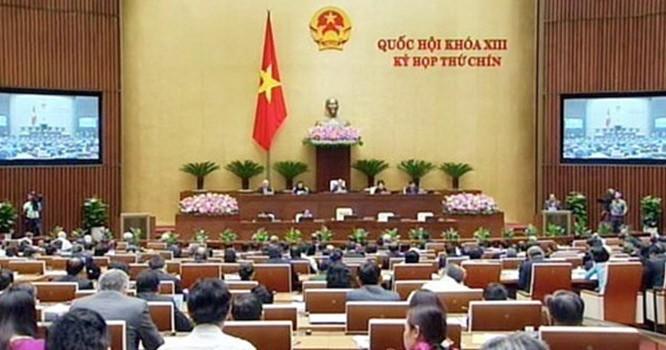 Kỳ họp Quốc hội thứ 9 đang diễn ra tại Hà Nội