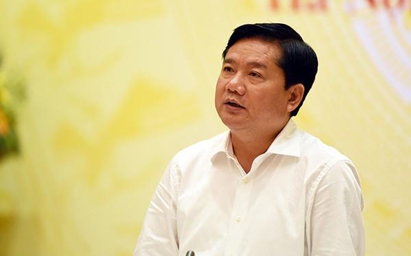 Bộ trưởng GTVT Đinh La Thăng.