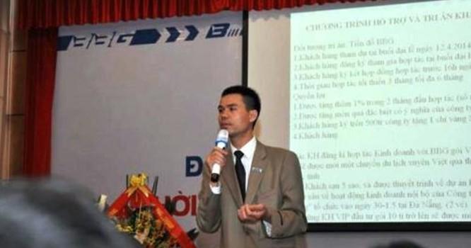 Ông Lê Minh Quang, Tổng giám đốc BBG Việt Nam