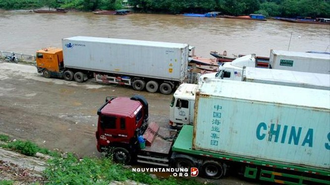 Hàng Trung Quốc quá cảnh ở Việt Nam tối đa 120 ngày