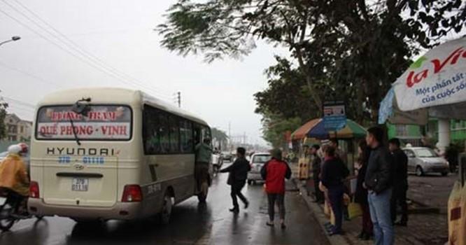 Nghệ An: Bắt giữ trùm bảo kê xe khách