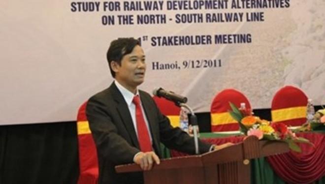 Trần Quốc Đông, nguyên Phó tổng giám đốc Tổng Cty Đường sắt Việt Nam.