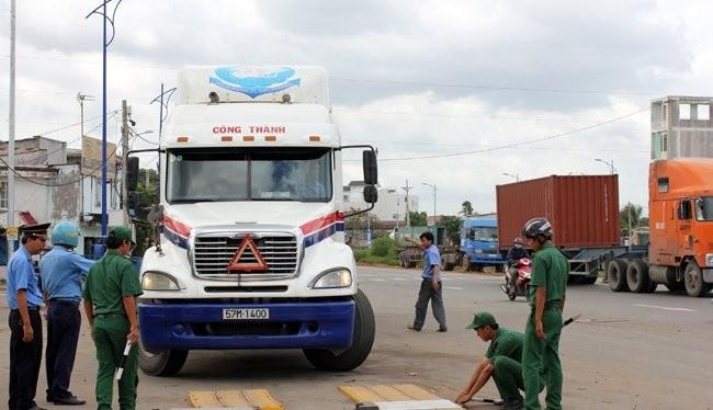 Xử nghiêm doanh nghiệp có xe chở quá tải
