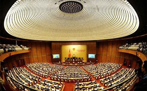 Hội trường Quốc hội.