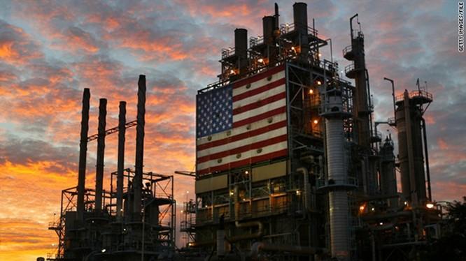 Mỹ vượt Nga trở thành nhà sản xuất dầu mỏ số 1 thế giới