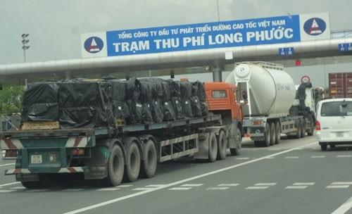 Việc kiểm tra tải trọng xe trên đường cao tốc TP.HCM - Long Thành - Dầu Giây sẽ được thực hiện từ cuối tuần tới