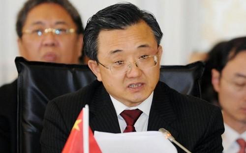 Thứ trưởng Ngoại giao Trung Quốc Lưu Chấn Dân. Ảnh: SCMP.