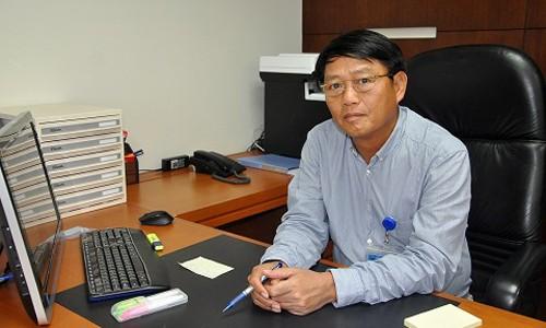 Ông Lương Mạnh Hoàng bày tỏ tham vọng cùngVNPT - Vinaphone giành lại vị trí số một trên thị trường viễn thông, công nghệ thông tin.