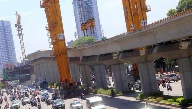 Dự án đường sắt Cát Linh - Hà Đông bị điểm danh