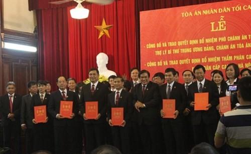 Ra mắt TAND cấp cao tại Hà Nội