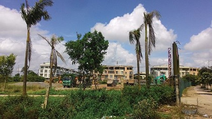 Dự án Khu đô thị Phú Lương sau 3 năm triển khai vẫn chỉ mới xong một phần nhỏ và còn nợ thuế cả trăm tỷ đồng