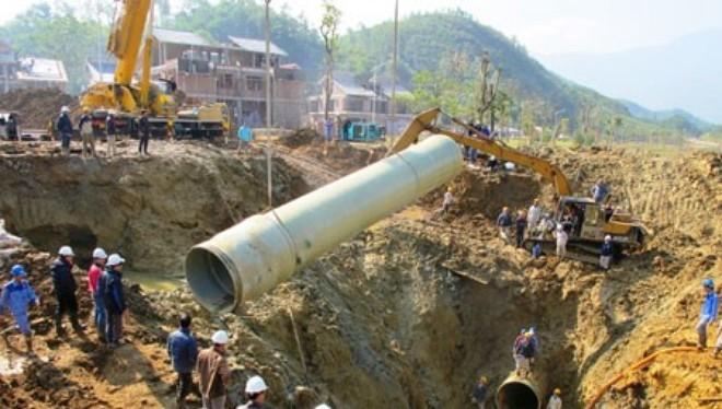 """Đường ống nước sông Đà: """"Sẽ còn vỡ vài lần nữa"""""""