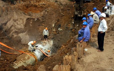 Hà Nội sẽ tự làm khẩn cấp một làm tuyến đường ống nước sạch sông Đà