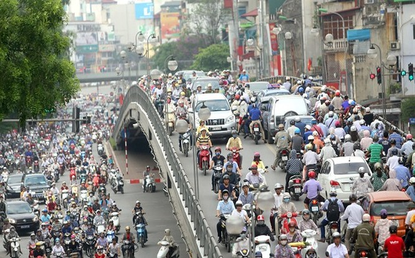 Việc thu phí bảo trì đường bộ xe máy đạt hiệu quả thấp