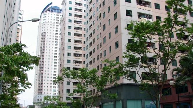 Căn hộ chung cư là phân khúc bất động sản hấp dẫn cả ở HN và TP.HCM.
