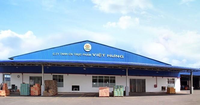 Công ty TNHH Công nghiệp thực phẩm Việt Hưng, tổng vốn đầu tư đăng ký 47,6 triệu USD.