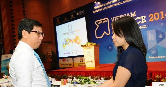 Vietnam Finance 2015 là sự kiện thường niên do Bộ Tài chính phối hợp với Tập đoàn dữ liệu quốc tế IDG Việt Nam tổ chức.