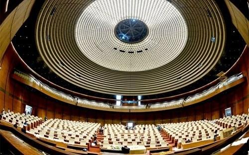 Nhà Quốc hội đã được đưa vào sử dụng từ tháng 9/2014 nhưng đến nay vẫn chưa thể bàn giao.