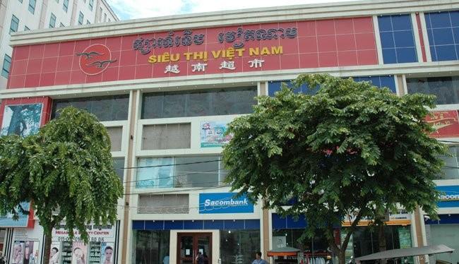 Một siêu thị Việt Nam tại Campuchia
