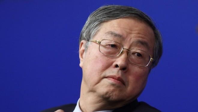 Thống đốc NHTW Trung Quốc Chu Tiểu Xuyên (Ảnh: Bloomberg)