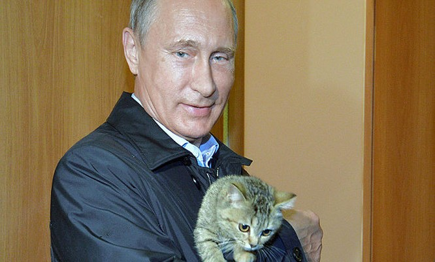 Tổng thống Nga Vladimir Putin - Ảnh: Telegraph