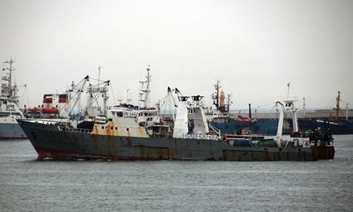Một tàu cá của Hàn Quốc. Ảnh: AP.