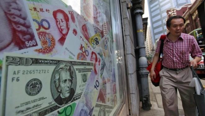 """Trung Quốc """"chỉ"""" mất 90 tỷ USD dữ trự ngoại hối vì hỗ trợ nhân dân tệ"""
