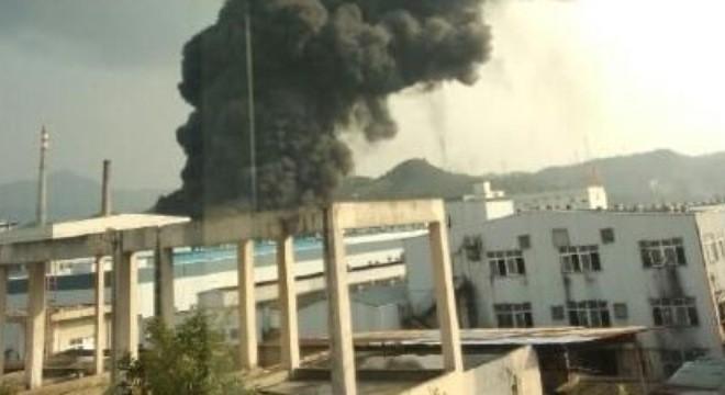Lại thêm nhà máy hóa chất ở phía đông Trung Quốc phát nổ