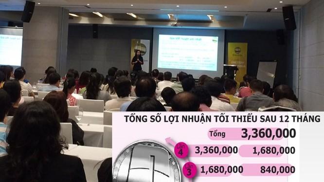 Hơn 150 nhà đầu tư Onecoin tham gia buổi gặp gỡ cuối tuần qua tại TP.HCM