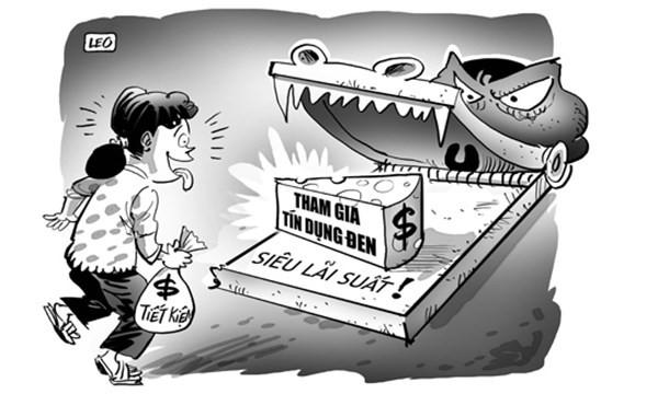 Vay 200 triệu, mất nhà 10 tỉ đất vàng Hà Nội