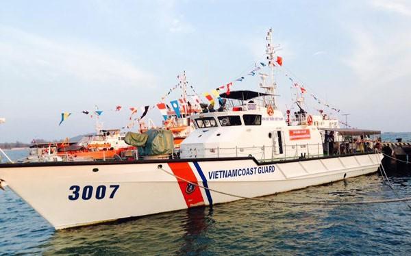Tàu Cảnh sát biển VN.