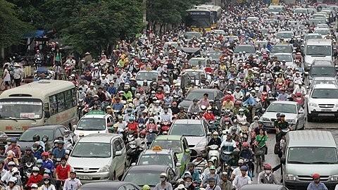 Giao thông Hà Nội đang bị quá tải gấp 6-10 lần