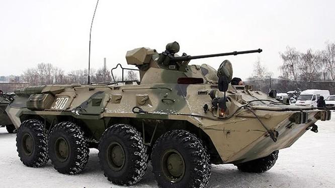 Xe bọc thép BTR-82A của quân đội Nga - Ảnh: topwar.ru