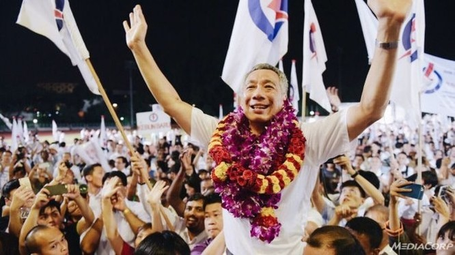 Bầu cử Singapore: Đảng của Thủ tướng Lý Hiển Long giành thắng lợi