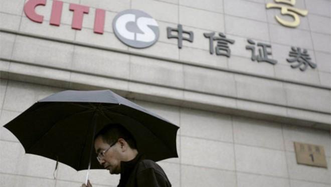 Công ty chứng khoán Citic là một nhánh của China International Trust and Investment, công ty tài chính nổi tiếng nhất của Chính phủ Trung Quốc - Ảnh: Reuters/WSJ.