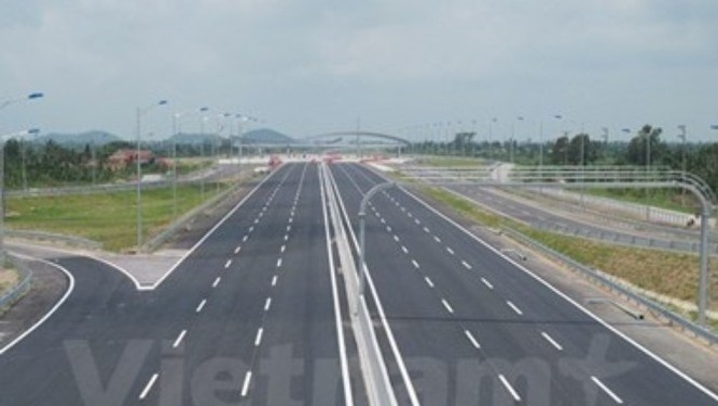 Đoạn tuyến cao tốc Hà Nội-Hải Phòng đã được thông xe và đưa vào khai thác.