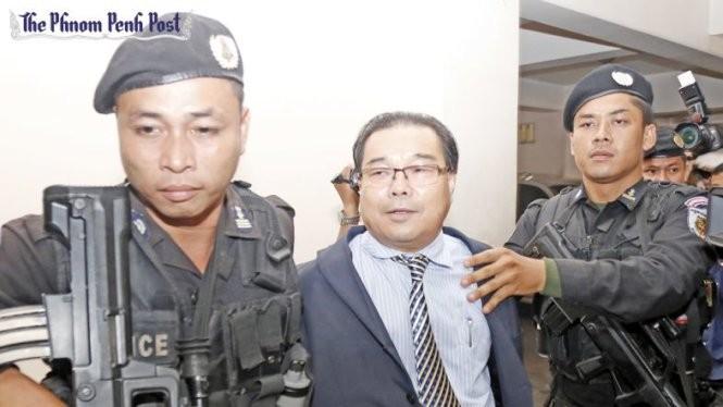 Nghị sĩ đối lập Hong Sok Hour bị bắt từ ngày 15-8 - Ảnh: Phnom Penh Post