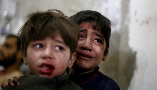 Cuộc sống địa ngục của trẻ em Syria