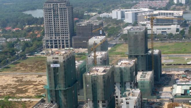 Nhiều dự án bất động sản đang cần được hỗ trợ.