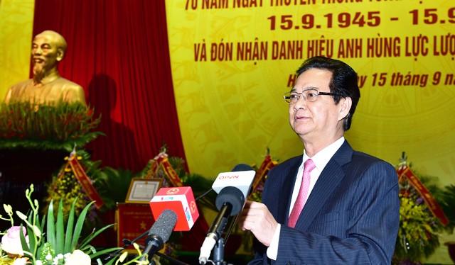 Thủ tướng Nguyễn Tấn Dũng. Ảnh: VGP/Nhật Bắc
