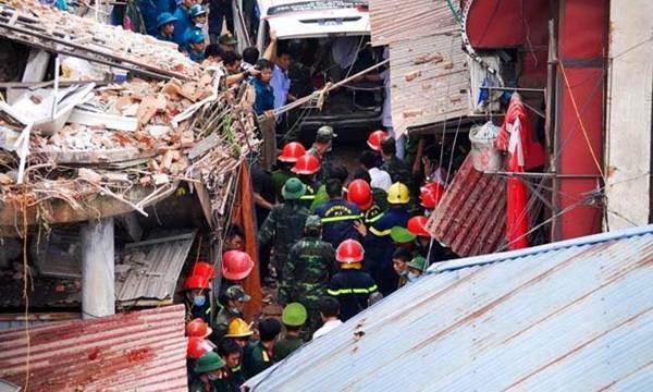 Vụ sập nhà biệt thự cổ đã khiến 2 người chết, 5 người bị thương.