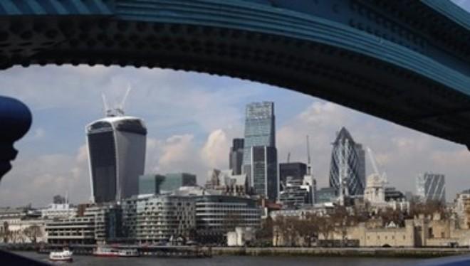 Một góc thành phố London. (Nguồn: Getty)
