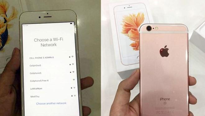 Những chiếc iPhone 6S đầu tiên về Việt Nam
