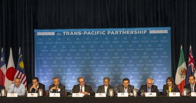 Cuộc họp của các Bộ trưởng TPP tại Hawaii, 31/07/2015 - Reuters.