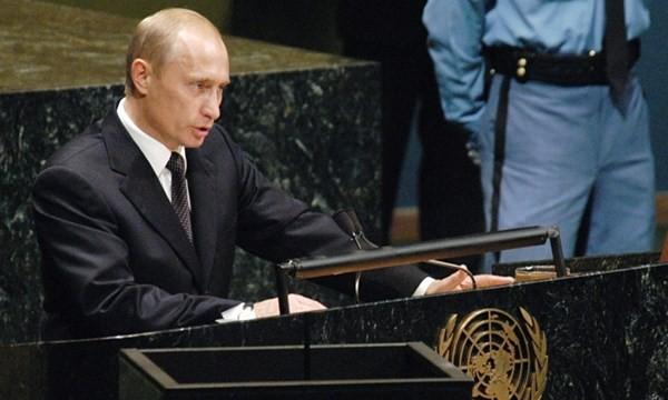 Tổng thống Nga Putin tại UNGA
