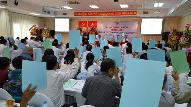 """ĐHCĐ Cảng Sài Gòn: """"Bắt tay"""" Vingroup triển khai dự án siêu đô thị 11.000 tỷ đồng"""