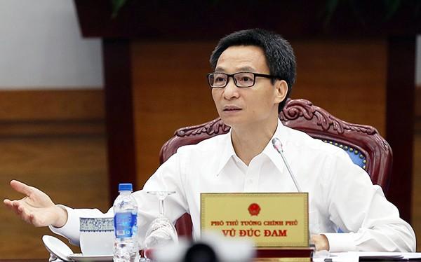 Phó Thủ tướng Vũ Đức Đam yêu cầu Bộ KH&CN xác định danh mục ngành nghề trong lĩnh vực dịch vụ CNTT, phần mềm là công nghệ cao. Ảnh: VGP/Đình Nam