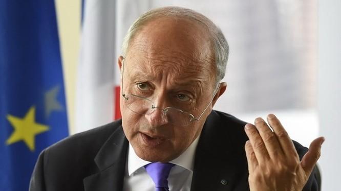 Ngoại trưởng Pháp Laurent Fabius nói Nga chỉ nói suông trong cuộc chiến chống IS - Ảnh: Reuters