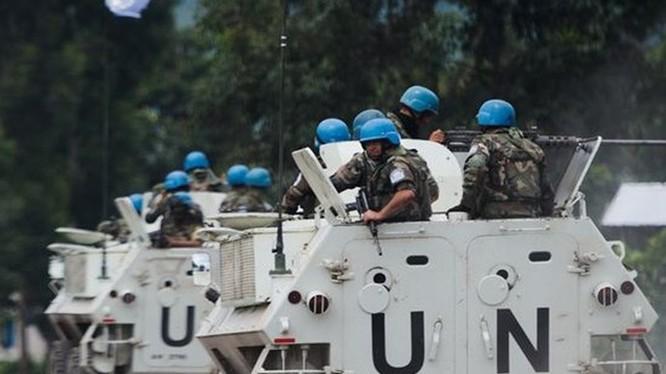 Lính mũ nồi xanh của LHQ tại Mali - Ảnh: AFP